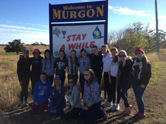 Welcome to Murgon: Now that we have the pic, it's official!