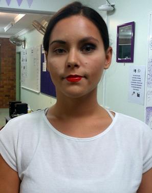 30s Glam makeup
